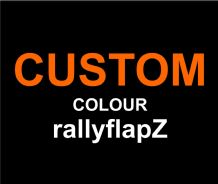 CUSTOM Colour rallyflapZ range